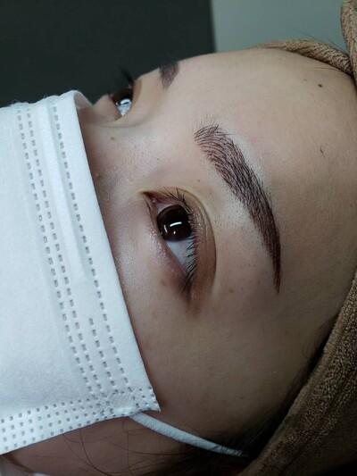 アートメイク眉毛4Dの症例写真[アフター]